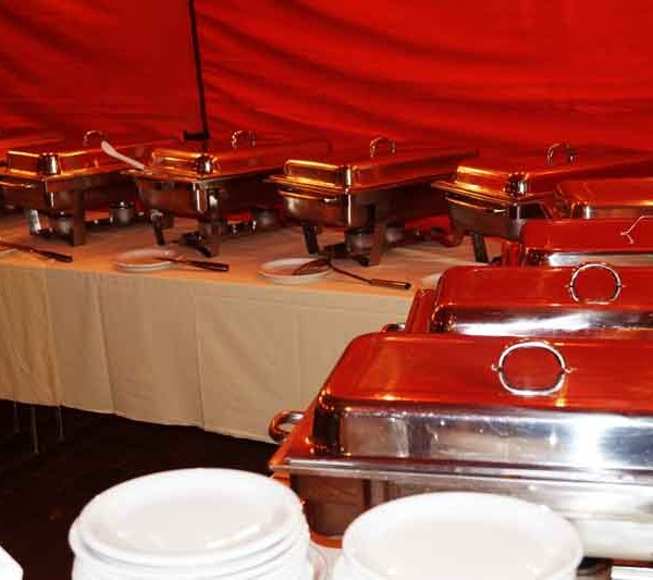 Chafing Dishes (Warmes Buffet)